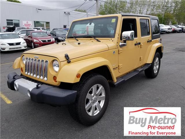 2013 Jeep Wrangler Unlimited Sahara 4WD (Stk: p18-082) in Dartmouth - Image 1 of 13