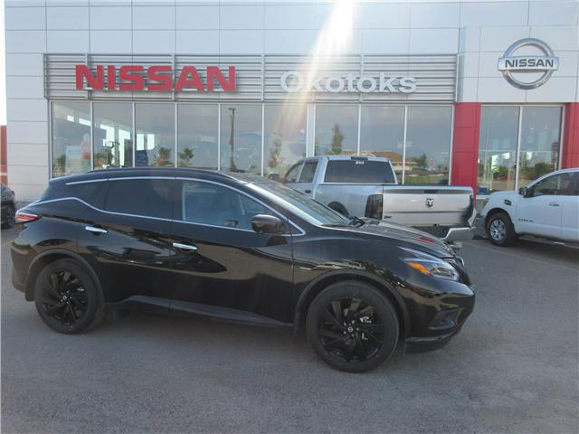 2018 Nissan Murano Midnight Edition (Stk: 192) in Okotoks - Image 1 of 27