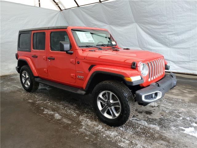 2021 Jeep Wrangler Unlimited Sahara (Stk: 211308) in Thunder Bay - Image 1 of 16