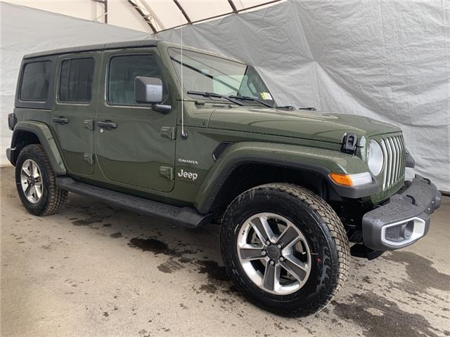 2021 Jeep Wrangler Unlimited Sahara (Stk: 211363) in Thunder Bay - Image 1 of 22