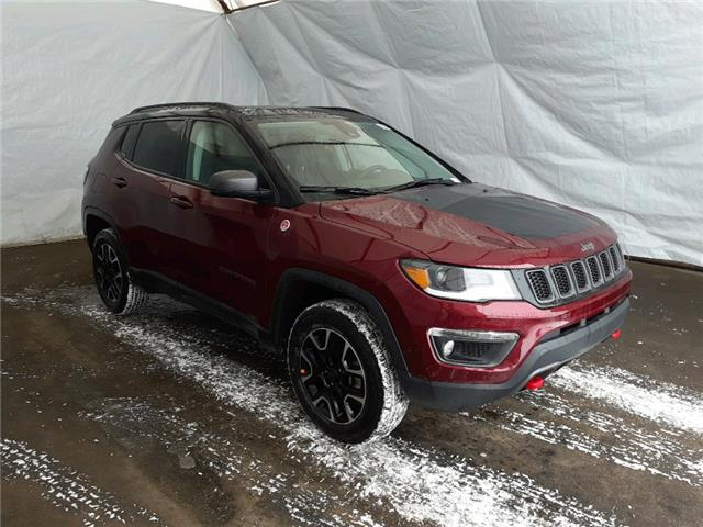 2021 Jeep Compass Trailhawk (Stk: 211198) in Thunder Bay - Image 1 of 18