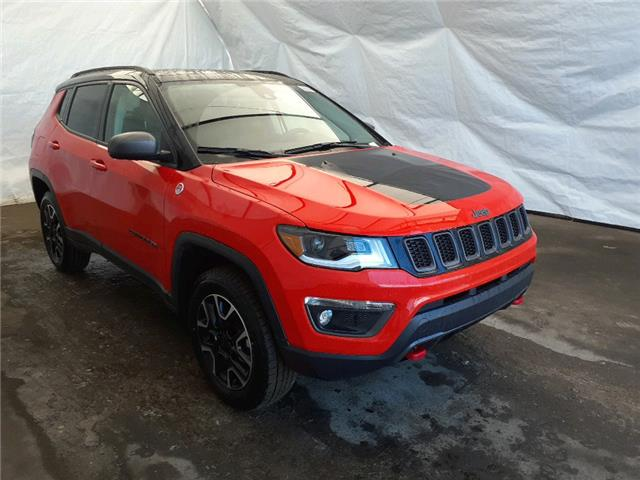 2021 Jeep Compass Trailhawk (Stk: 211180) in Thunder Bay - Image 1 of 18