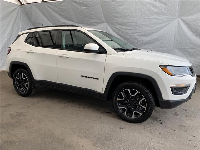 2021 Jeep Compass Sport (Stk: 211188) in Thunder Bay - Image 1 of 22