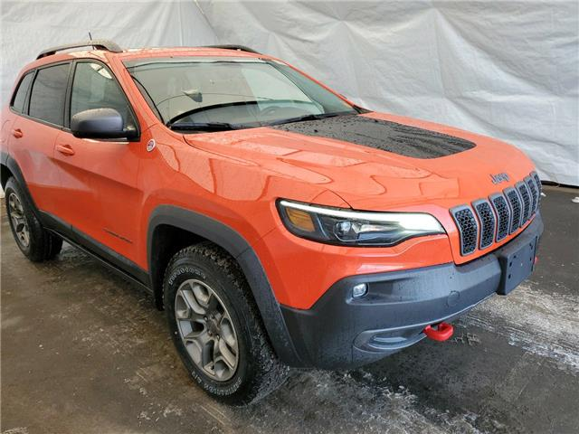 2021 Jeep Cherokee Trailhawk (Stk: 211100) in Thunder Bay - Image 1 of 15