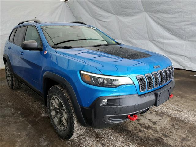 2021 Jeep Cherokee Trailhawk (Stk: 211104) in Thunder Bay - Image 1 of 15