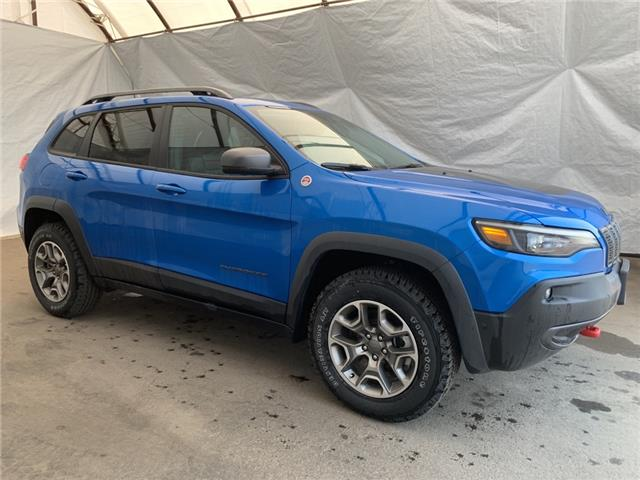2021 Jeep Cherokee Trailhawk (Stk: 211104) in Thunder Bay - Image 1 of 24