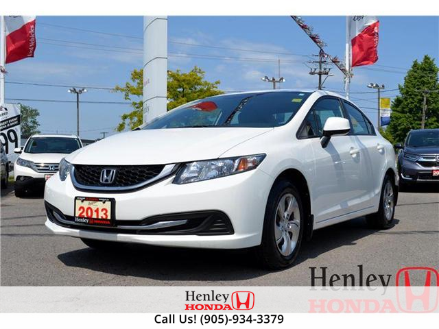 2013 Honda Civic LX (A5) BLUETOOTH (Stk: R9122) in St. Catharines - Image 1 of 12