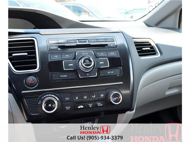 2013 Honda Civic LX (A5) BLUETOOTH (Stk: R9122) in St. Catharines - Image 10 of 12