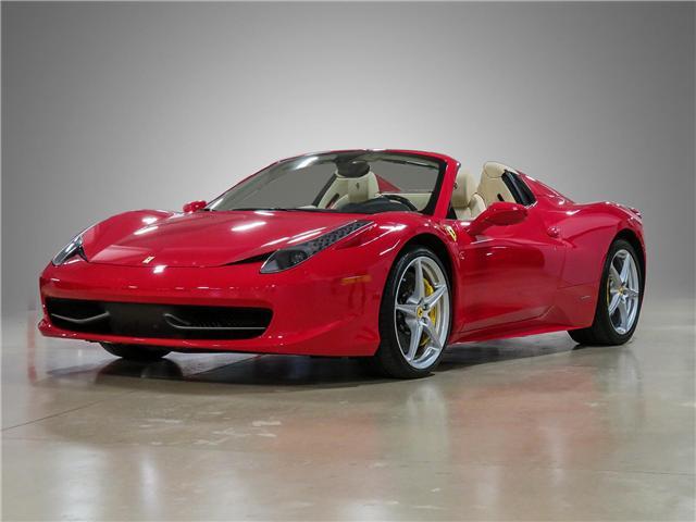 2014 Ferrari 458 Spider Base At 299987 For Sale In Vaughan