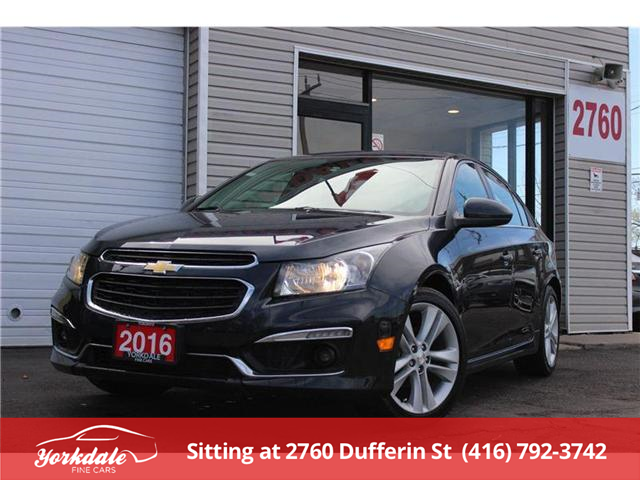 2016 Chevrolet Cruze Limited 2LT (Stk: S1006) in North York - Image 1 of 23