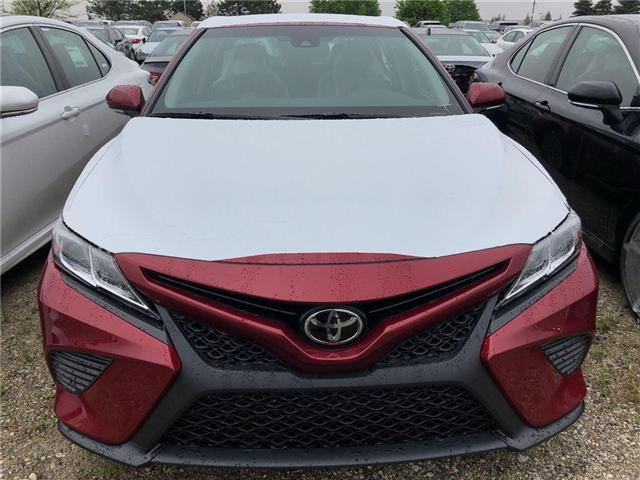 2018 Toyota Camry SE (Stk: 623299) in Brampton - Image 2 of 5