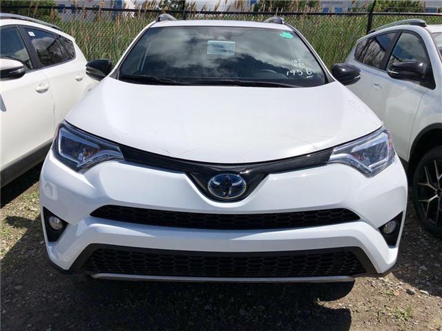 2018 Toyota RAV4 Hybrid SE (Stk: 219498) in Brampton - Image 2 of 5