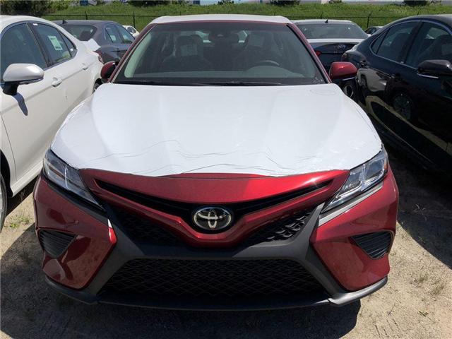 2018 Toyota Camry SE (Stk: 631966) in Brampton - Image 2 of 5