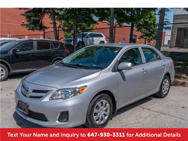 2012 Toyota Corolla CE (Stk: 19556A) in Mississauga - Image 1 of 14