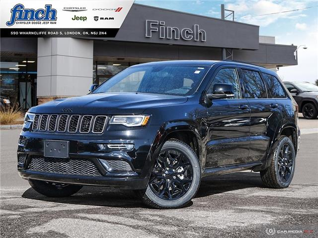 2021 Jeep Grand Cherokee Limited (Stk: 100933) in London - Image 1 of 27