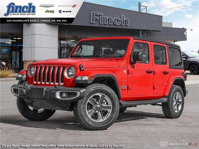 2021 Jeep Wrangler Unlimited Sahara (Stk: 100846) in London - Image 1 of 24