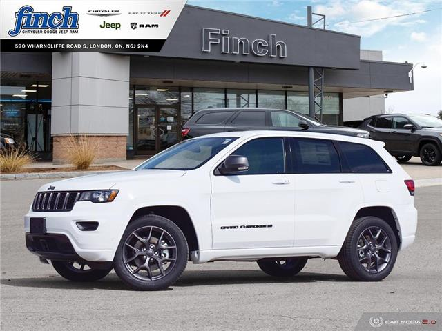 2021 Jeep Grand Cherokee Limited (Stk: 100718) in London - Image 1 of 27