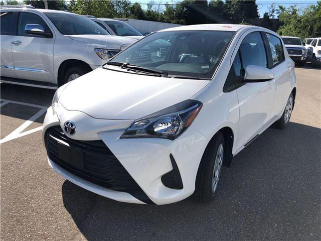 2018 Toyota Yaris LE (Stk: M180963) in Mississauga - Image 1 of 5