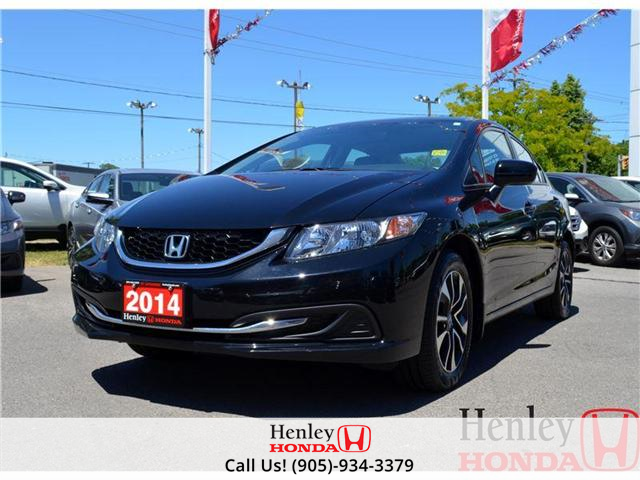 2014 Honda Civic EX SUNROOF ALLOY WHEELS (Stk: B0729) in St. Catharines - Image 1 of 14