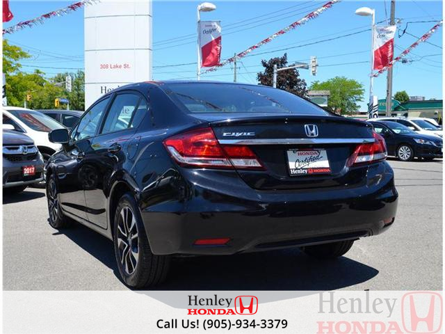 2014 Honda Civic EX SUNROOF ALLOY WHEELS (Stk: B0729) in St. Catharines - Image 3 of 14