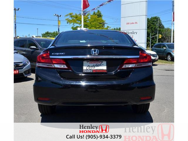 2014 Honda Civic EX SUNROOF ALLOY WHEELS (Stk: B0729) in St. Catharines - Image 5 of 14