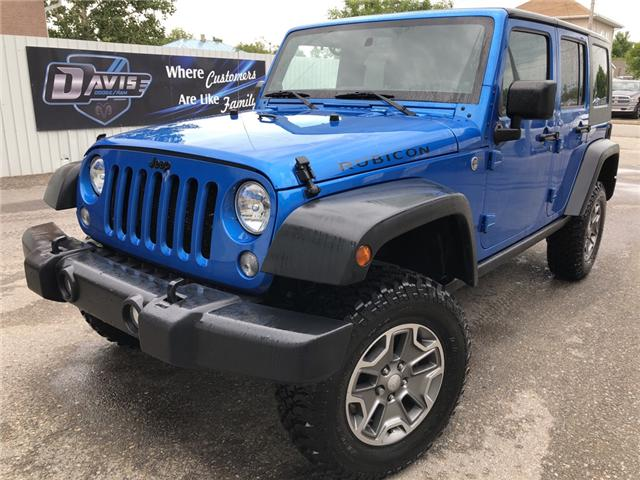 2014 Jeep Wrangler Unlimited Rubicon (Stk: 12401) in Fort Macleod - Image 1 of 15