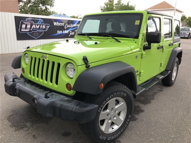 2012 Jeep Wrangler Unlimited Sport (Stk: 11778) in Fort Macleod - Image 1 of 16