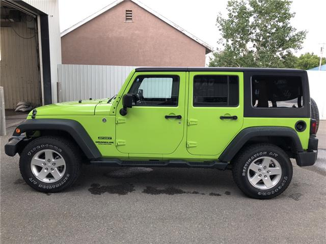 2012 Jeep Wrangler Unlimited Sport (Stk: 11778) in Fort Macleod - Image 2 of 16