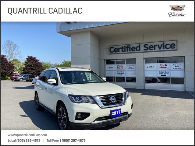 2017 Nissan Pathfinder Platinum (Stk: 21664B1) in Port Hope - Image 1 of 20