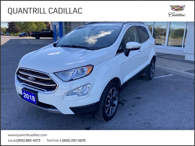 2018 Ford EcoSport Titanium (Stk: 21570a) in Port Hope - Image 1 of 11