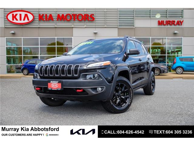 2016 Jeep Cherokee Trailhawk (Stk: M1877A) in Abbotsford - Image 1 of 21