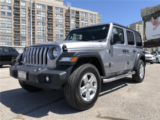 2019 Jeep Wrangler Unlimited Sport (Stk: P5370) in North York - Image 1 of 28
