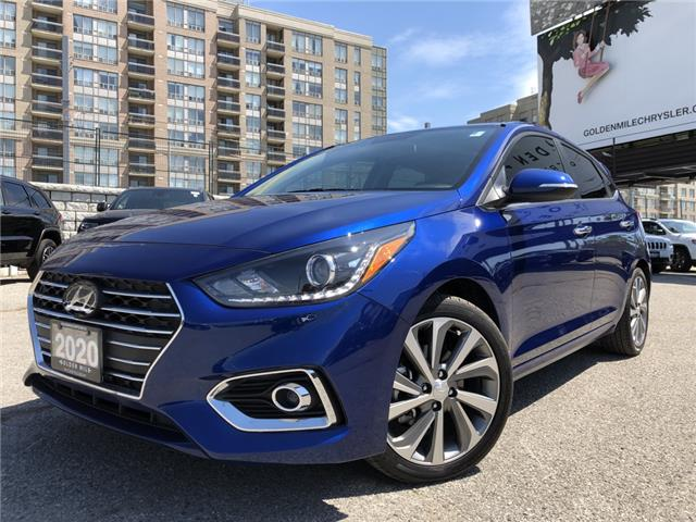 2020 Hyundai Accent Ultimate (Stk: P5179A) in North York - Image 1 of 28