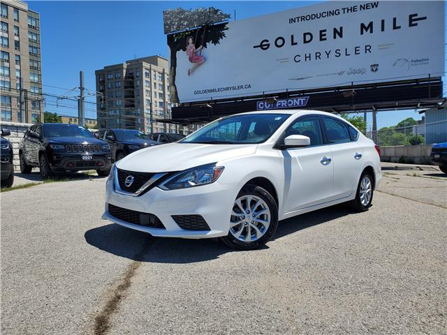 2019 Nissan Sentra  (Stk: P5385) in North York - Image 1 of 24