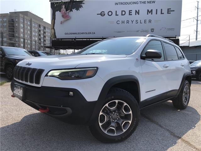 2020 Jeep Cherokee Trailhawk (Stk: P5410) in North York - Image 1 of 30