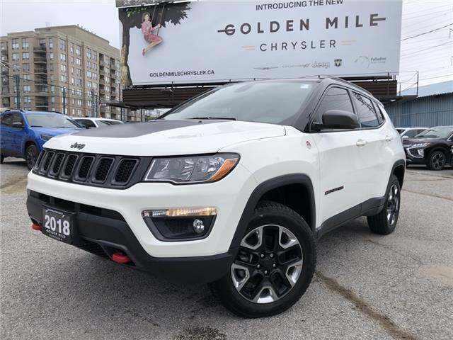 2018 Jeep Compass Trailhawk (Stk: P5448) in North York - Image 1 of 29