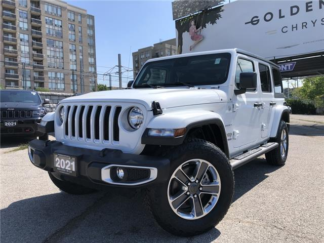 2021 Jeep Wrangler Unlimited Sahara (Stk: 21176) in North York - Image 1 of 28