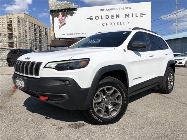 2020 Jeep Cherokee Trailhawk (Stk: P5500) in North York - Image 1 of 31