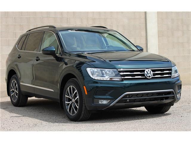 2018 Volkswagen Tiguan Comfortline Discover Media Navigation Package