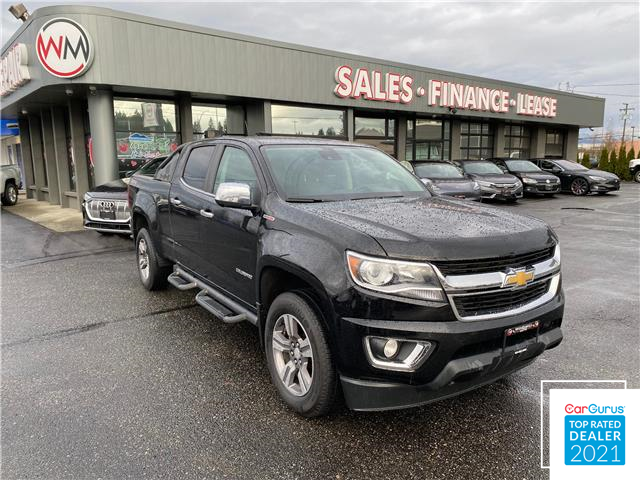 2017 Chevrolet Colorado LT (Stk: 17-183998) in Abbotsford - Image 1 of 16