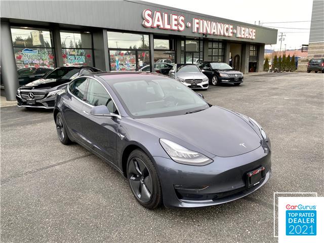 2019 Tesla Model 3 Long Range (Stk: 19-205776A) in Abbotsford - Image 1 of 13
