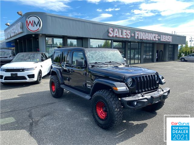 2018 Jeep Wrangler Unlimited Sahara (Stk: 18-303238) in Abbotsford - Image 1 of 18