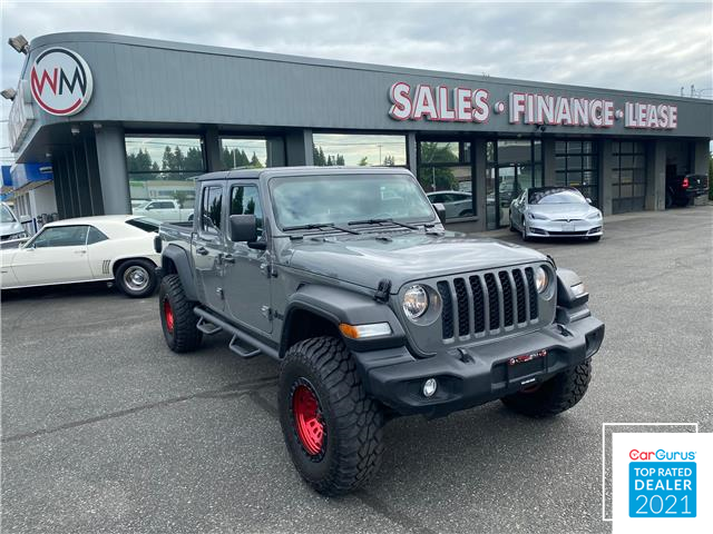 2020 Jeep Gladiator Sport S (Stk: 20-133780) in Abbotsford - Image 1 of 12