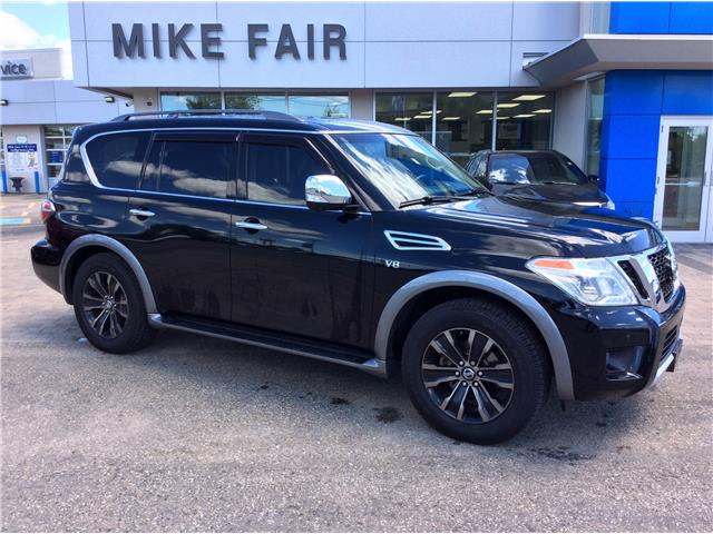2017 Nissan Armada Platinum (Stk: 21271A) in Smiths Falls - Image 1 of 16