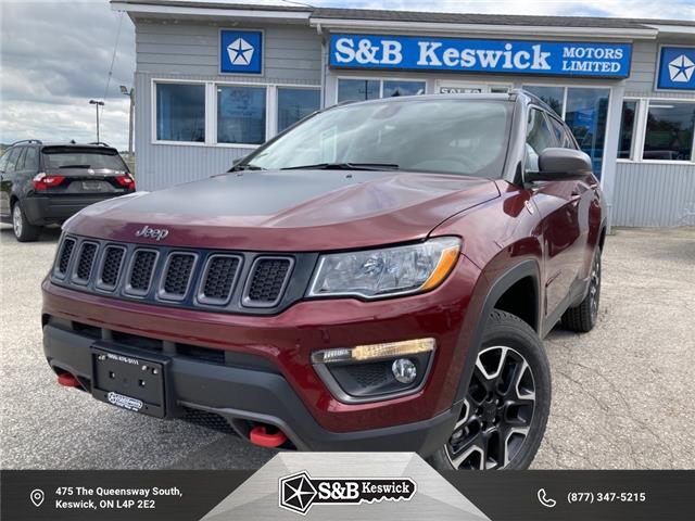 2021 Jeep Compass Trailhawk (Stk: 21043) in Keswick - Image 1 of 30