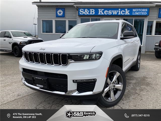 2021 Jeep Grand Cherokee L Limited (Stk: 21138) in Keswick - Image 1 of 28