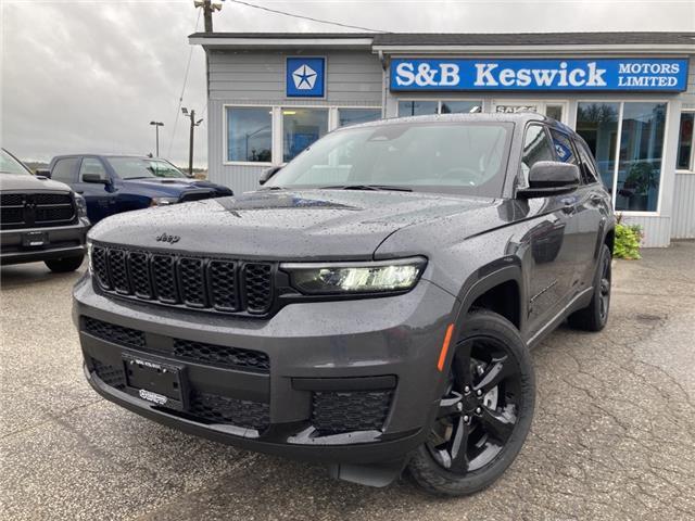 2021 Jeep Grand Cherokee L Laredo (Stk: 21137) in Keswick - Image 1 of 28