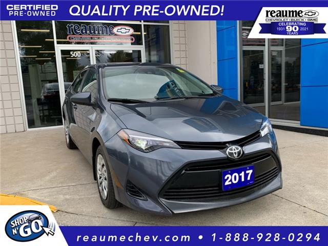 2017 Toyota Corolla CE (Stk: 21-0018A) in LaSalle - Image 1 of 22