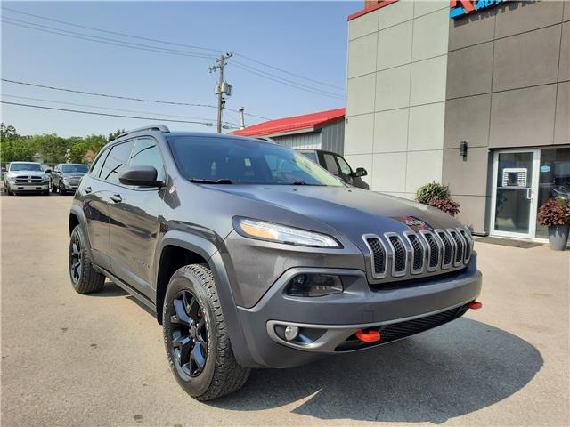 2017 Jeep Cherokee Trailhawk (Stk: 15106) in Regina - Image 1 of 25