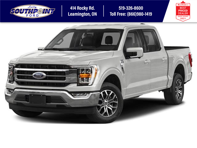 2021 Ford F-150 Lariat (Stk: SFF6962) in Leamington - Image 1 of 9